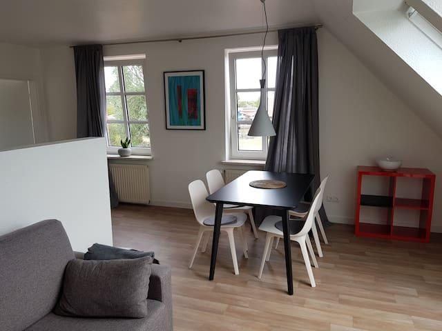 Ferienwohnung mit Hafenblick in Weener, Nordsee