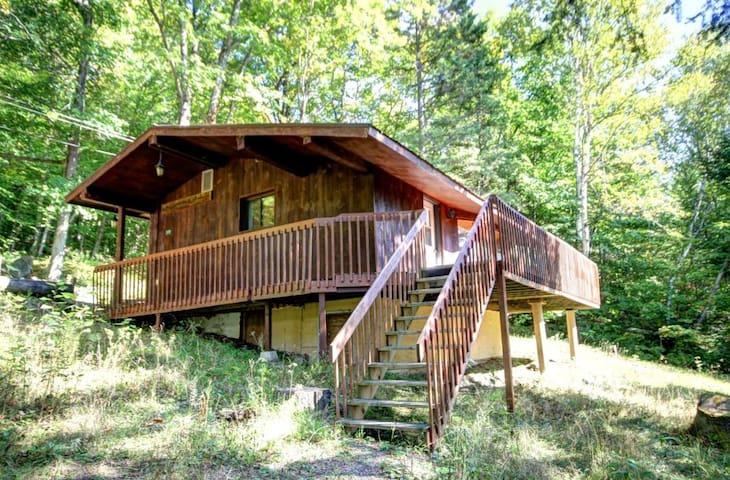 Chalet 1 chambre au lac Sarrazin - Sainte-Lucie-des-Laurentides