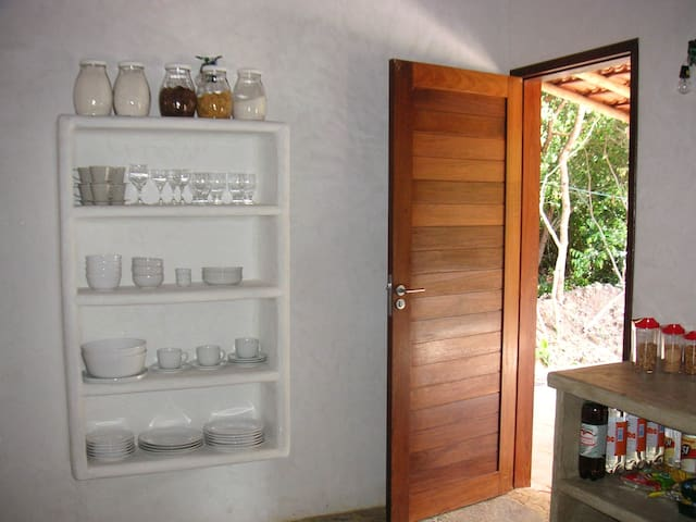 Ref 123 Relaxing house in nature close to Paradise - Pipa Beach - Huis