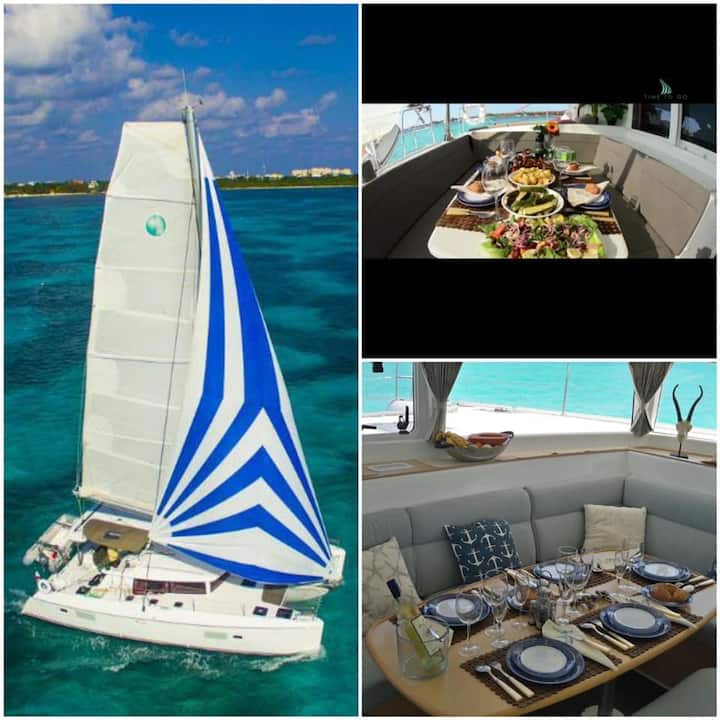 Catamaran Luxury Lagoon 421⚓️