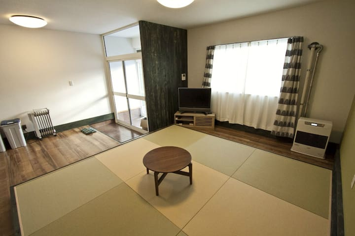 Great access to Niseko!!/Near station/Max2ppl 1F