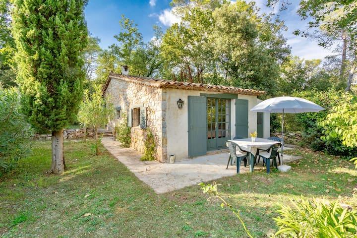 Authentic Provençal Cottage near Valbonne