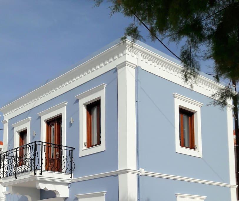Αegean View Villa (Deluxe)  - The building