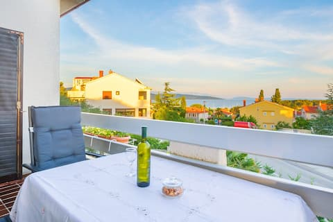 Apartment Silvija - sea view, Krk