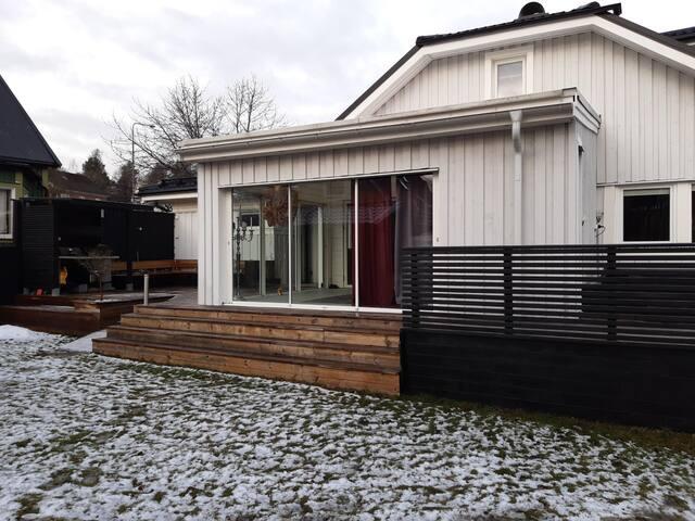 Stor villa centralt i Sundsvall