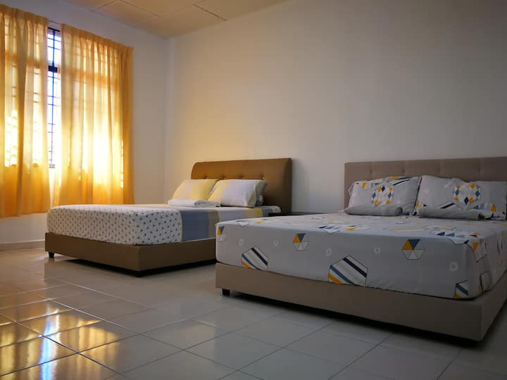 Cordial Spacious 2-Storey Homestay Butterworth PG.