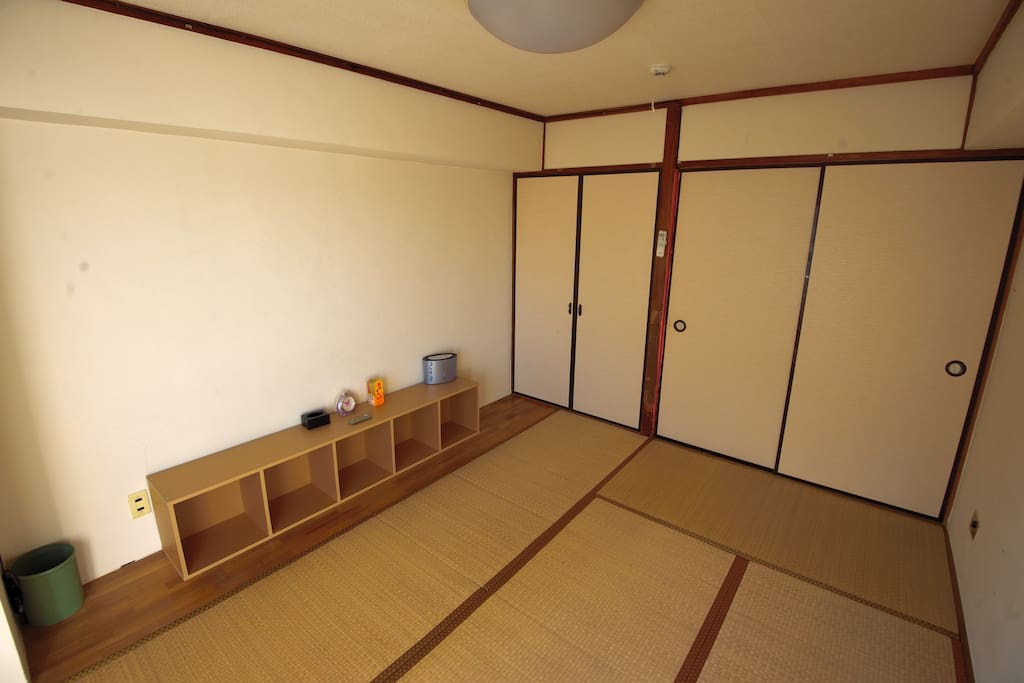 Tatami (straw and rush mats) Traditional Japanese-style rooms