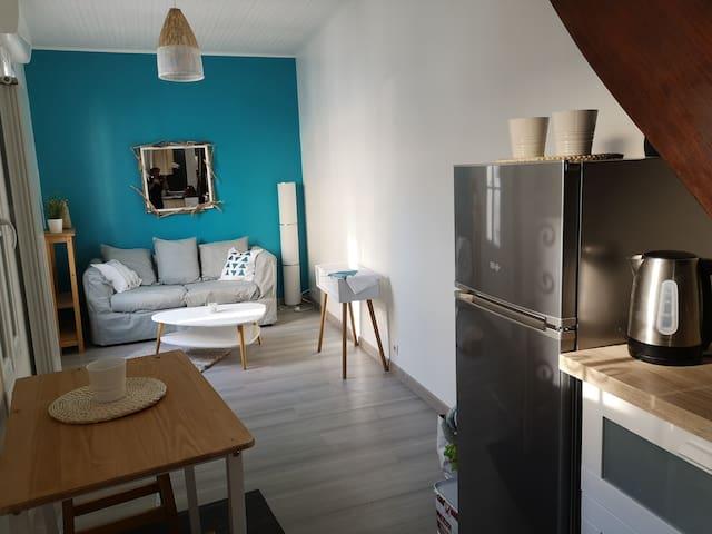Petite maison, tout confort, proche de tout