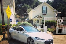 Bridge Street Inn guests and the public can now enjoy a type 2 40 amp EV charger.