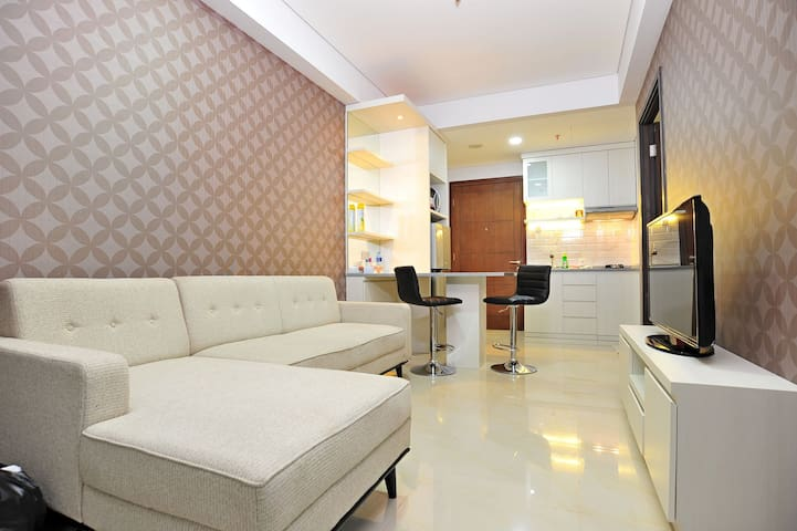 Nicely furnished comfortable 2BR Apartment - Jakarta selatan - Apartment