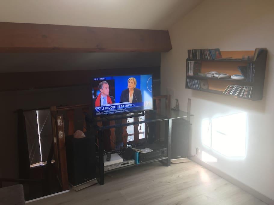 salon sur la mezzanine