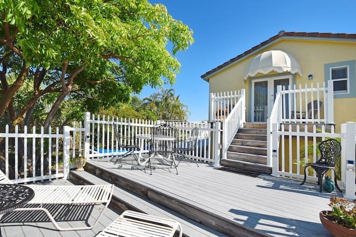 Private Entrance and deck just for you!