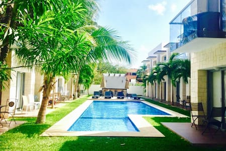 Beautiful Loft |Playacar|Access to Reef Beach Club