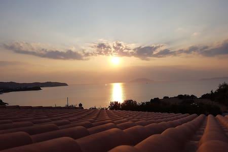 Bay View Villa Sunset