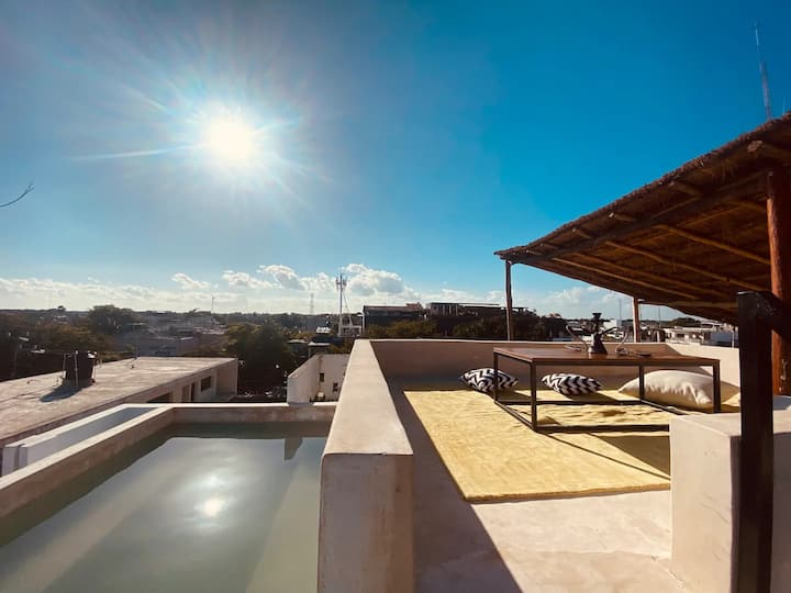 6pplROOM @MariaMariaVilla @TULUMTOWN|ROOFTOP&2pool