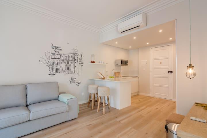 Lisbon Nouveau - Apartment 1B - Lisboa - Huoneisto