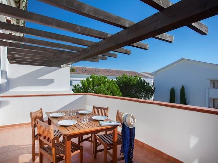 Appartement Vue Jardin Avec Accès Direct à la Plage! Kitchenette Equipée + Climatisation