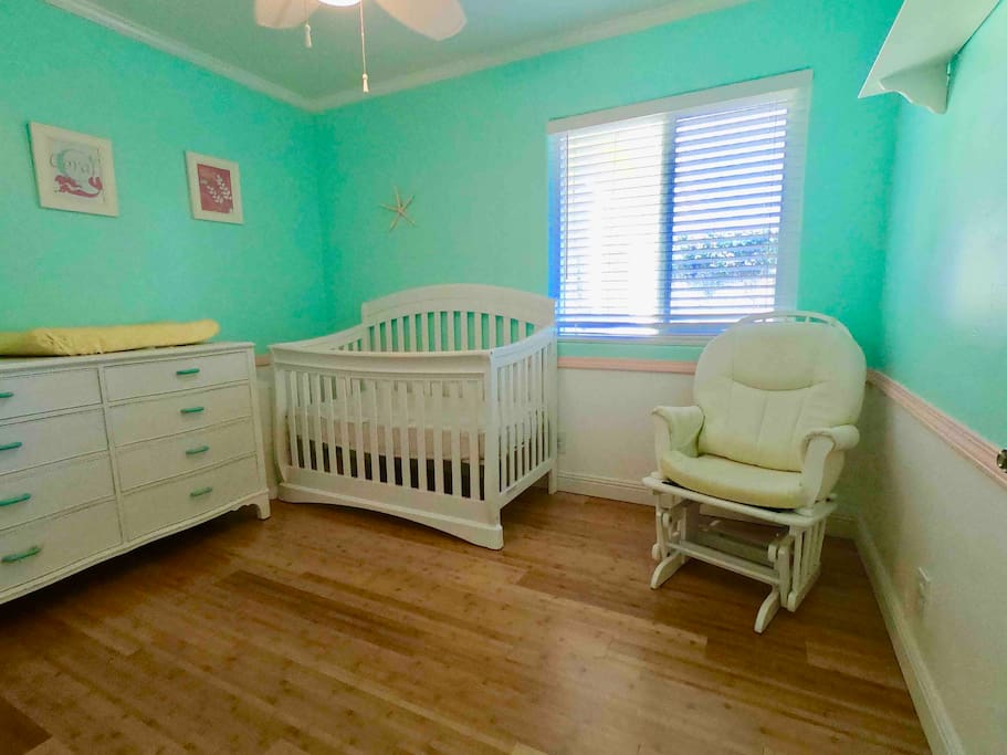 Optional Bedroom 4 for Under 3yrs old - Crib Only