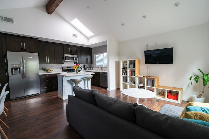 Designer house in Culver City