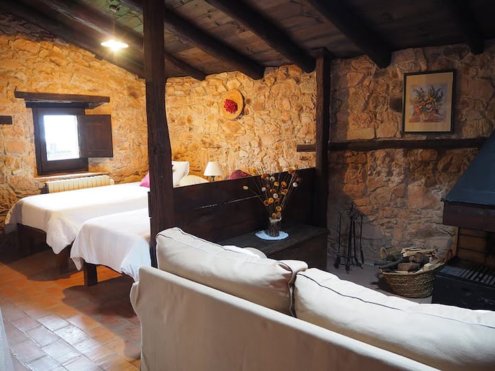 Habitación Carlet-Rosa Mas Cal Sastre