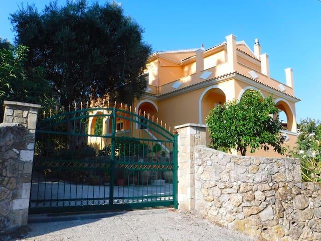 Villa Nika in Kamara on Corfu Island