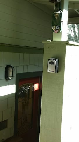 stairway and lock box