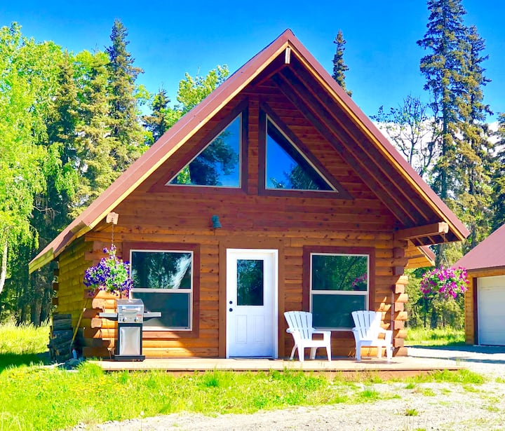 East Mackey Lakefront Cabin in Soldotna