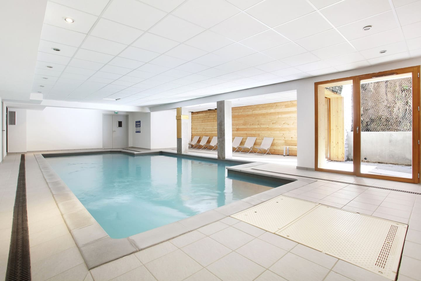 Enjoy access to the indoor heated swimming pool.