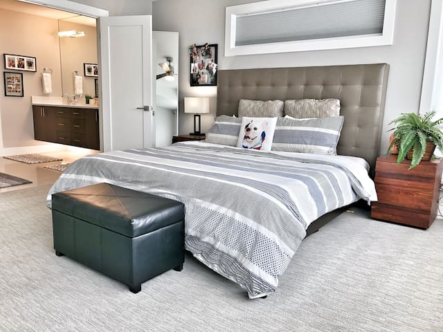 Modern Luxury Private Master Suite w/ Ensuite Bath