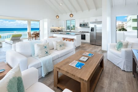 Craggy Nook Flying Fish Beachfront Penthouse Villa
