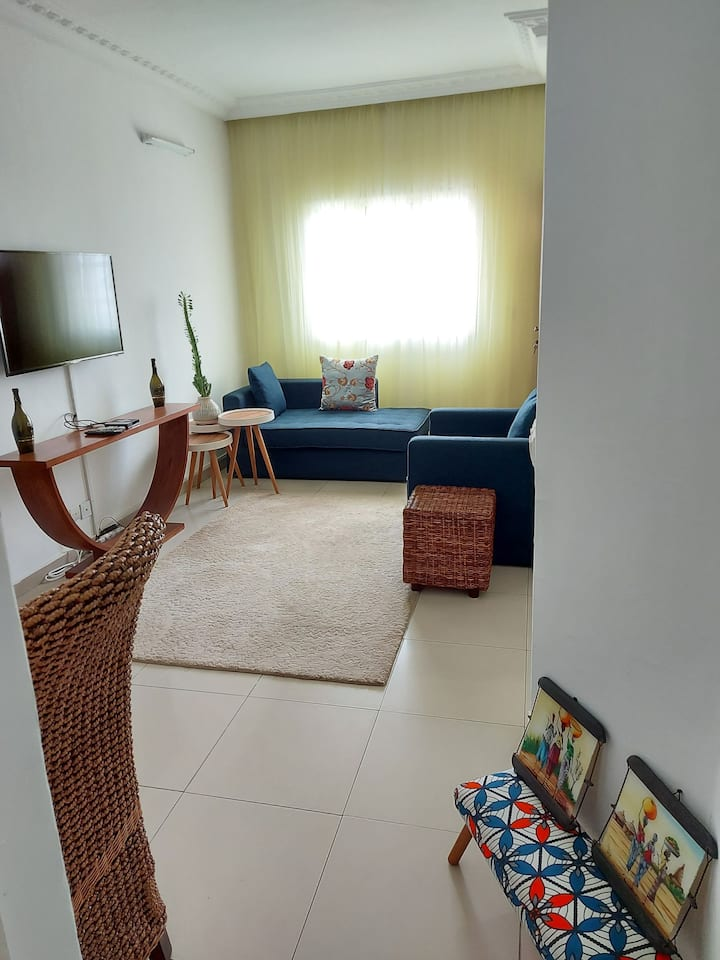 Bel appartement meublé aux deux plateaux vallons