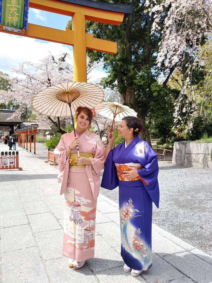 Photo opportunity - Hirano Shrine