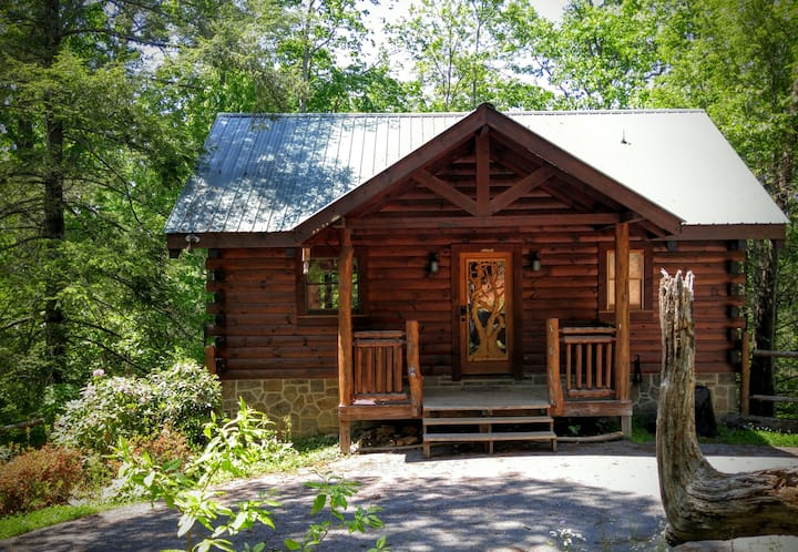 Sereni-tree Cabin in the Smokey Mountains