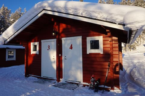 """Trapper Cabin one room"" in Lappeasuando"