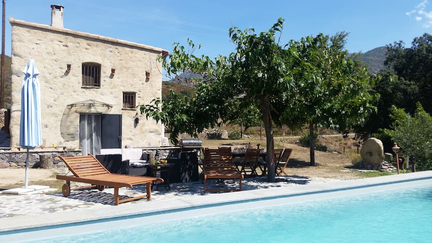 location de charme avec piscine - Castifao - House