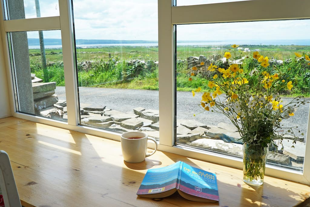 Sunroom with great views of Liscannor Bay