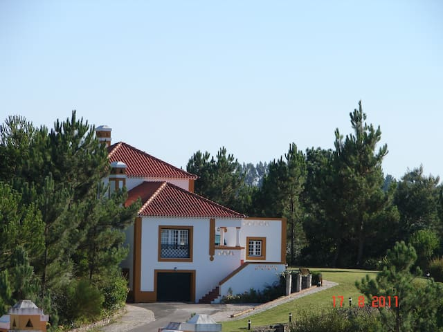 A dream house on the lake for a family in Portugal