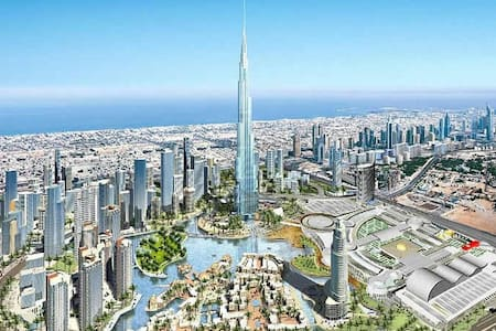 100m2 beautiful apt one step to Burj Khalifa - Dubai