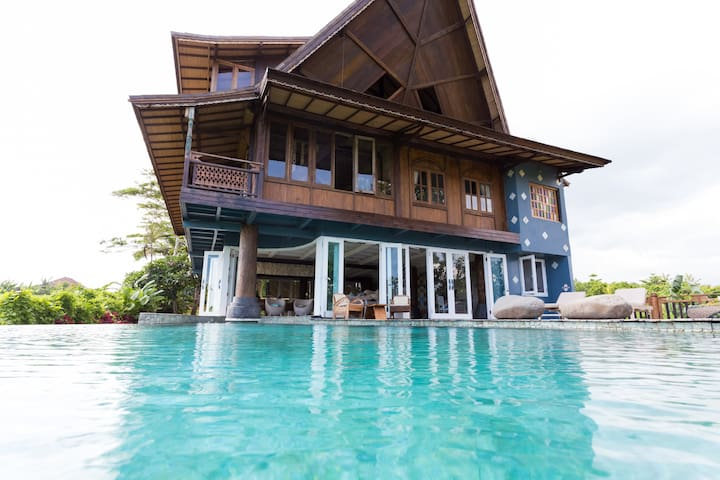 Garden Room - Quiet Wooden House Pool & Breakfast - Mengwi