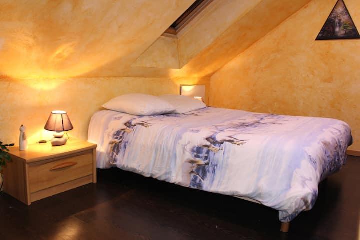 Saint Agnan : Chambre aux fées