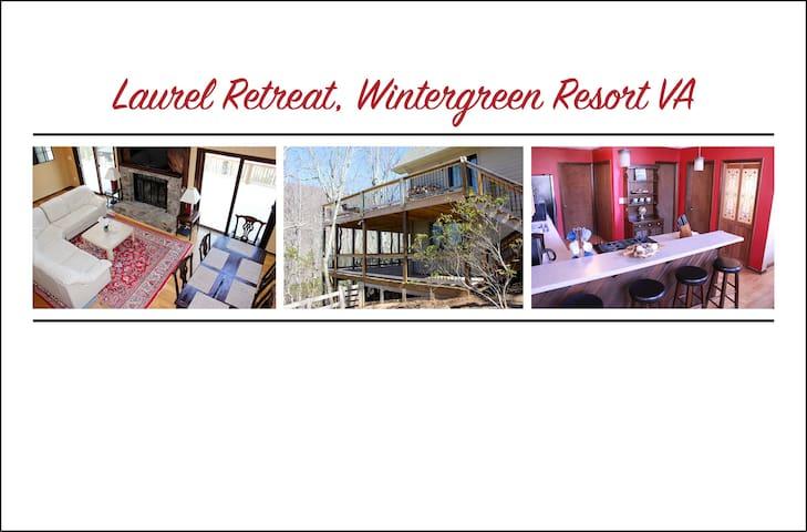 Laurel Retreat, Sleeps 12, Hot Tub, Pet-Friendly - Roseland - House