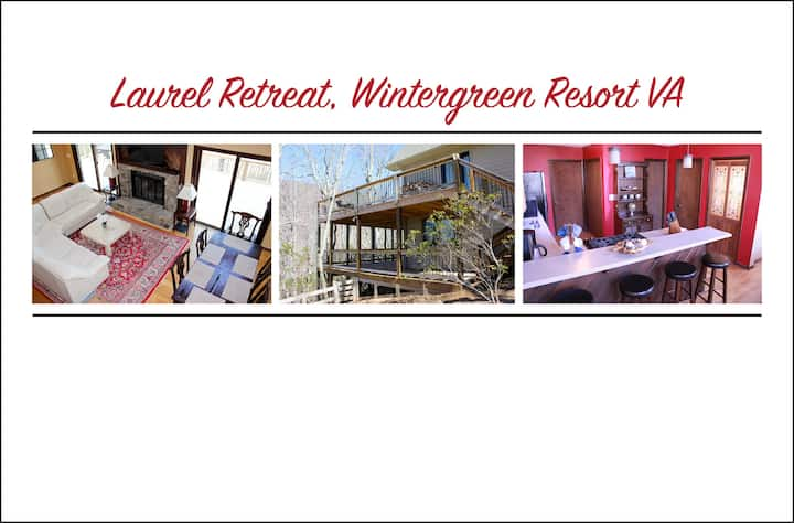 Laurel Retreat, Sleeps 12, Hot Tub, Pet-Friendly