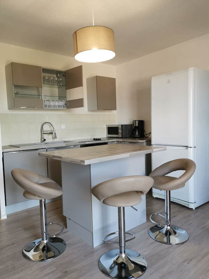Appartement proche CNPE Bugey et PIPA