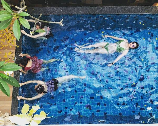3room swimming pool villa/3卧独栋泳池瀑布别墅/赠送免费一日游