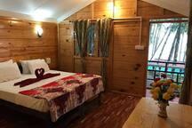 Cola Beach Cottage Bedroom