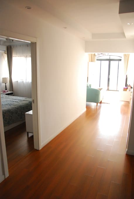Apartment Entrance - Guest bedroom on the left