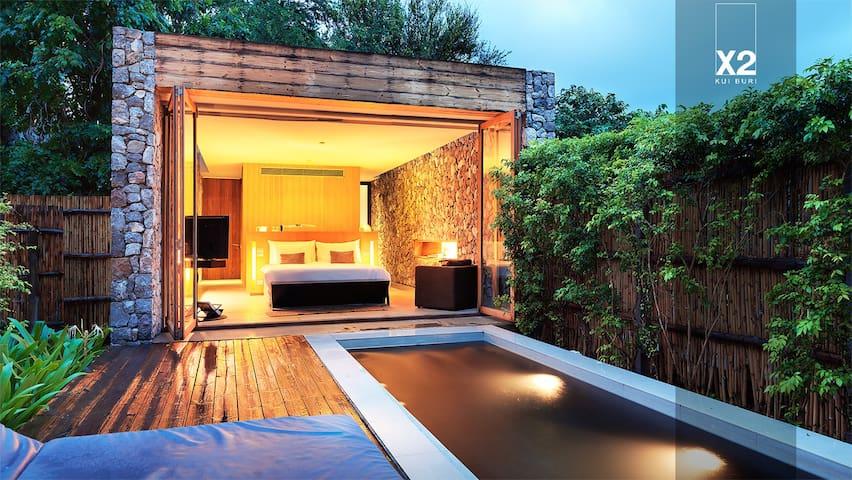 Deluxe Pool Villa @ X2 Kui Buri - Tambon Kui Buri