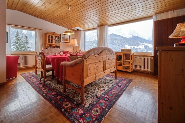 5-Zimmerhaus mit Garten und Panoramaussicht, Scuol