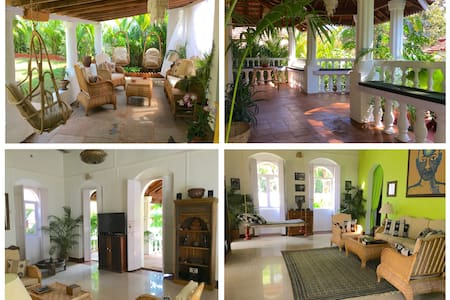 VILLA LOU Goan Villa + Daily Maid, 15 min to Beach - Verla Canca - Hus