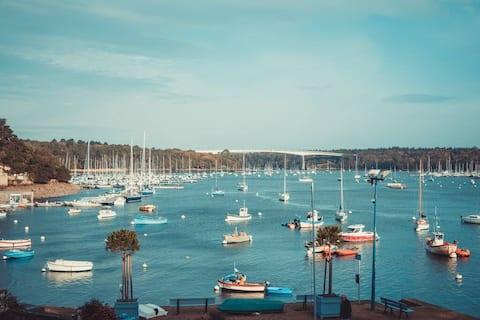 Port de Sainte Marine - Vue mer & Grande terrasse